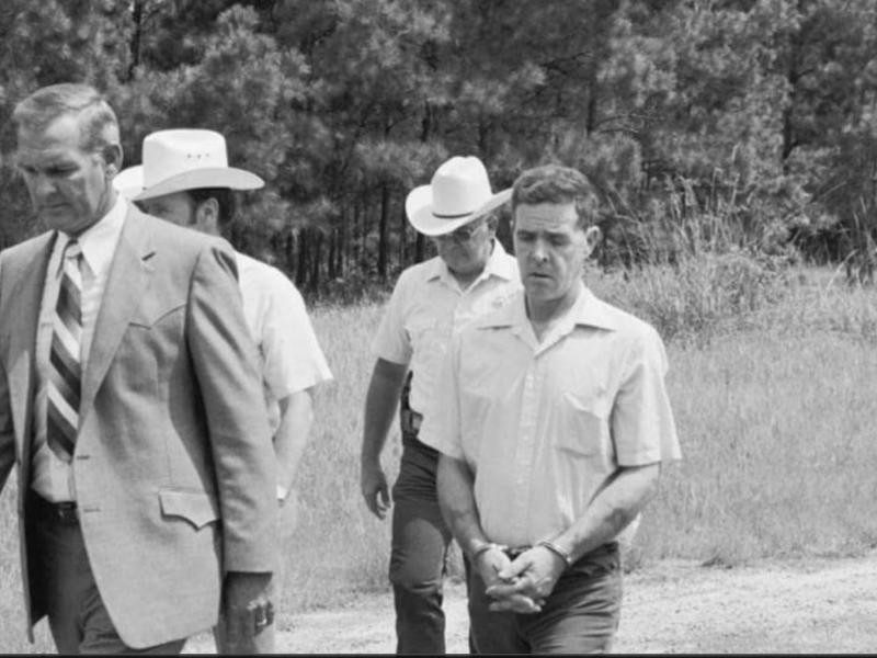 The Confession Killer being arrested