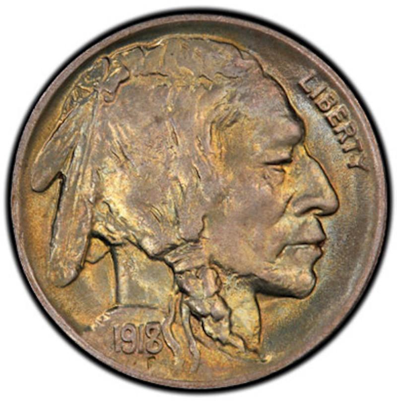 1918/7-D Buffalo Nickel