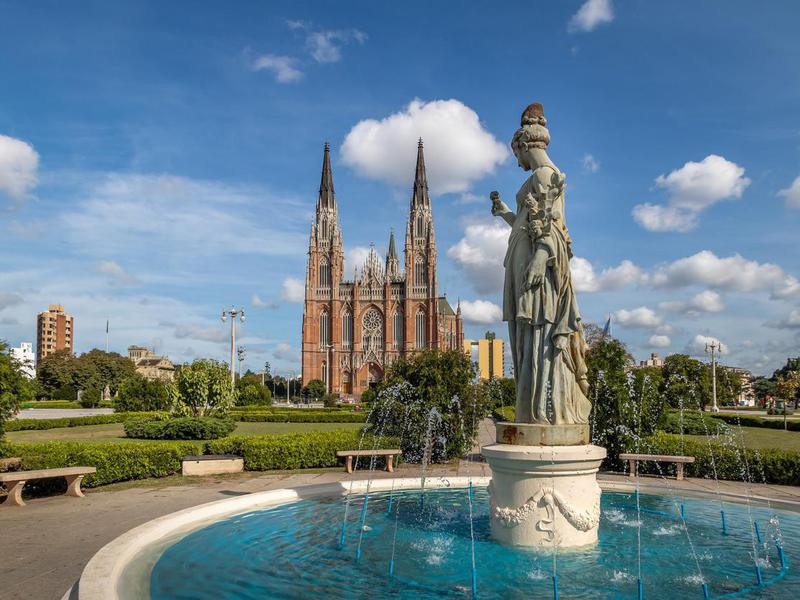 La Plata Cathedral, Buenos Aires, Argentina