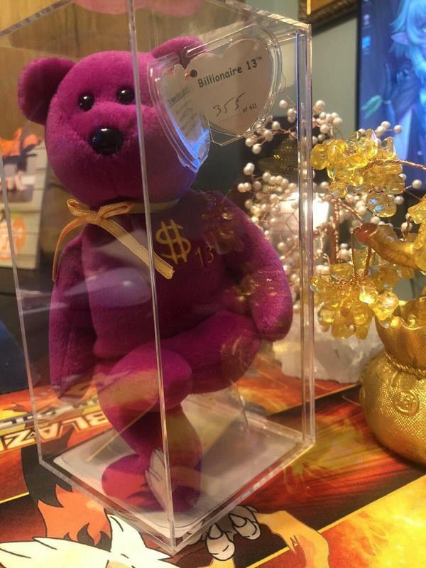 Billionaire Bear 13 Beanie Baby