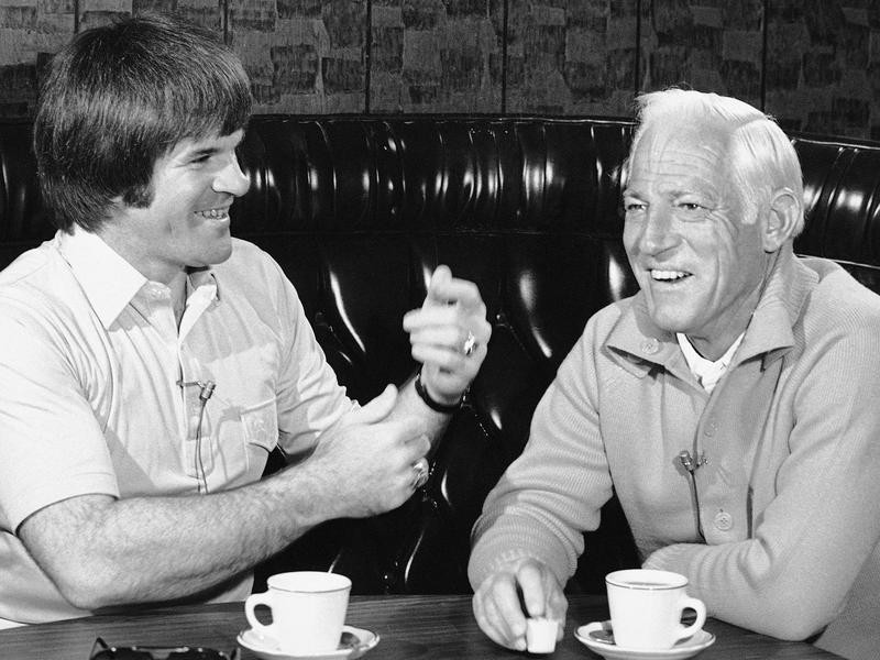 Pete Rose and Sparky Anderson