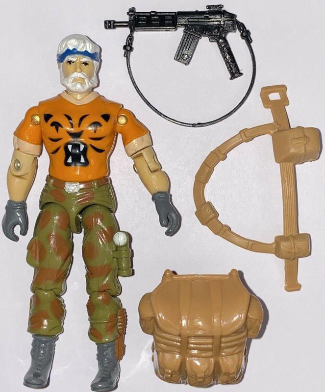 Tiger Force Survivalist Outback G.I. Joe