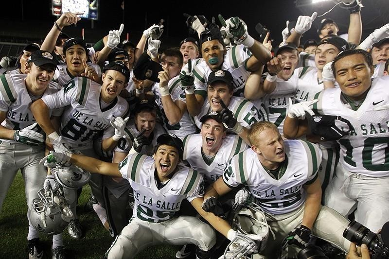 De La Salle football teams with CIF State title in 2011