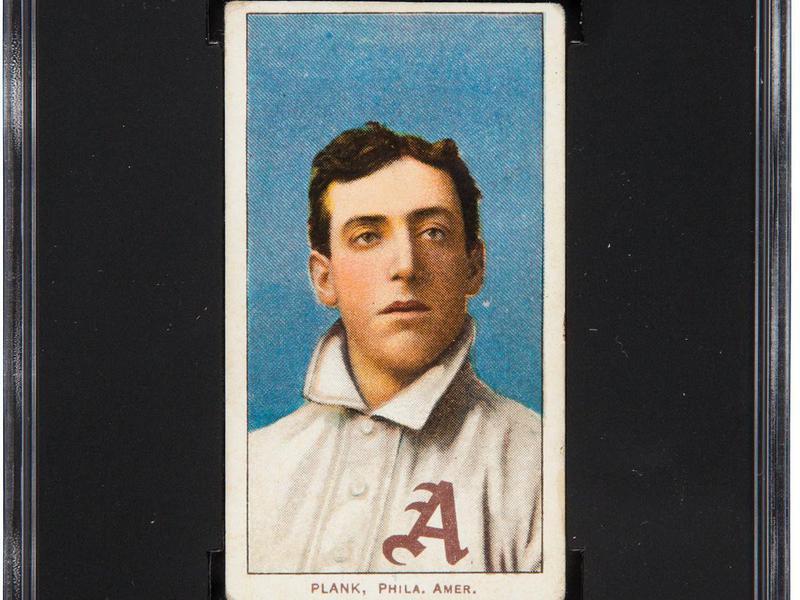 Eddie Plank 1909-11 T206 card