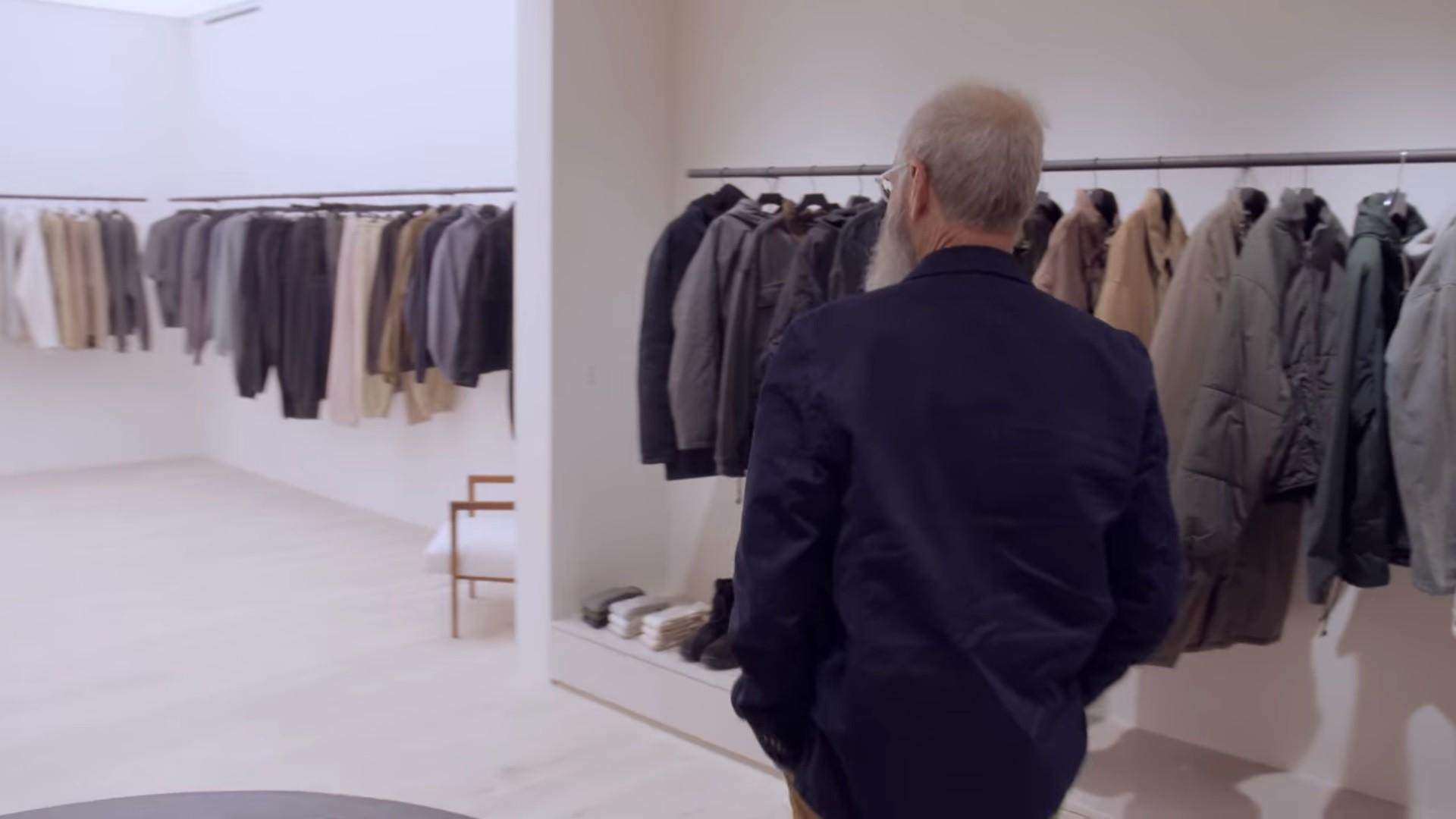 Kanye's closet