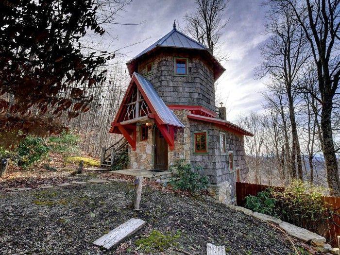 Micro castle in North Carolina