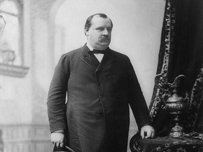 Grover Cleveland as president