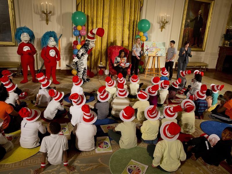 Dr. Seuss reading event