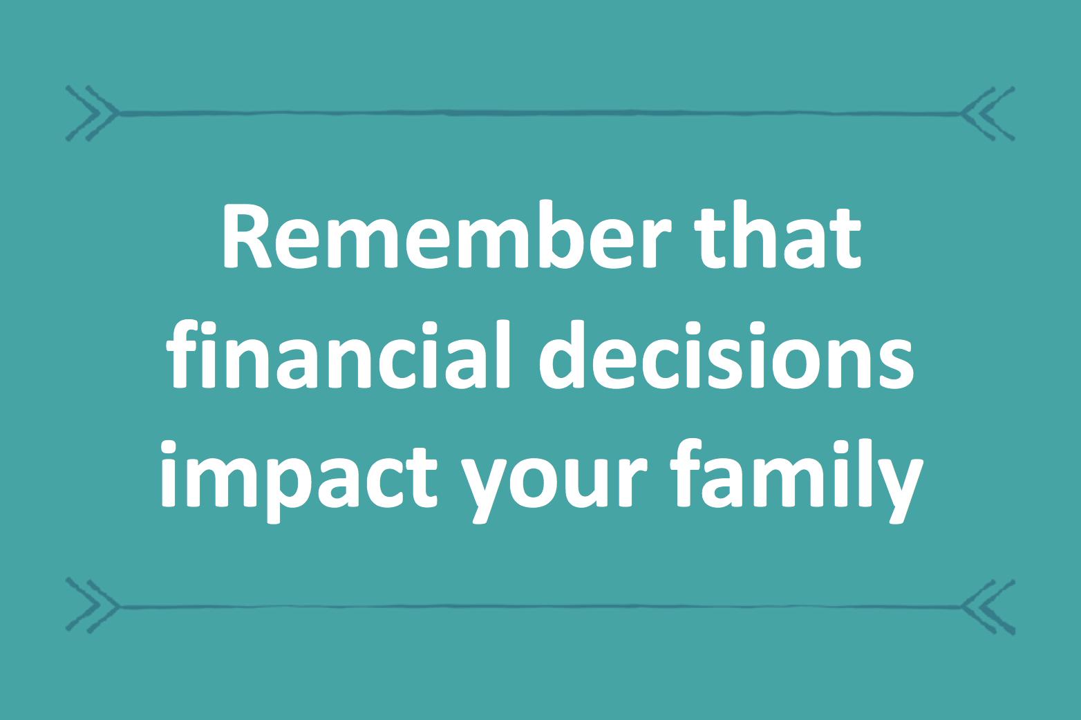Family financials
