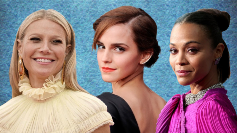 Gwyneth Paltrow, Emma Watson, Zoe Saldana