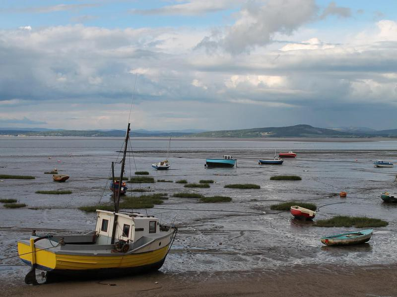 Morecambe Bay in England