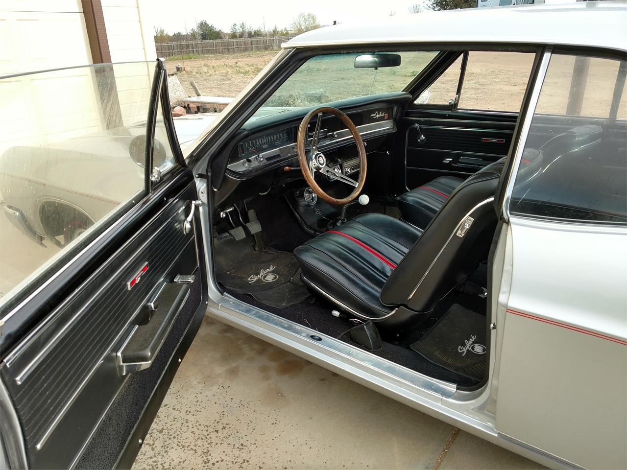 1966 Buick Skylark GS interior