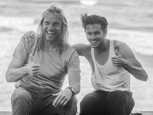 Natas Kaupas and Dylan Rieder