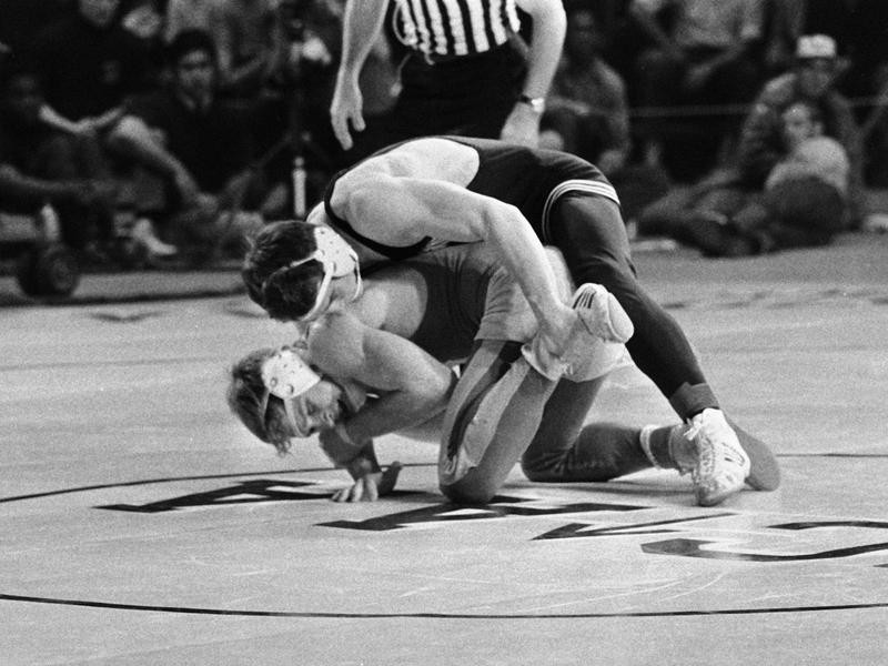 Larry Owings and Dan Gable