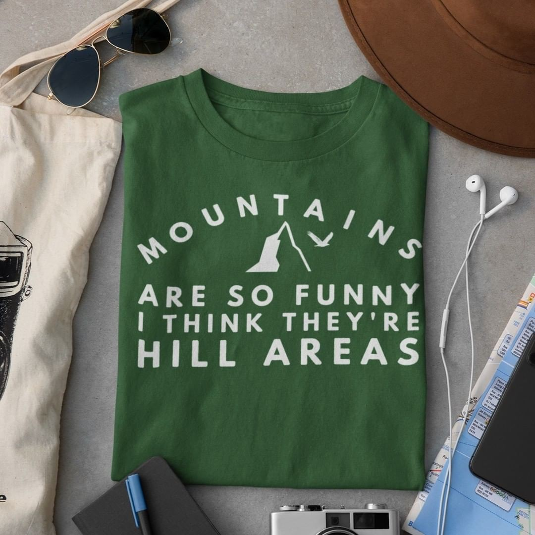 Funny Shirts for Hikers