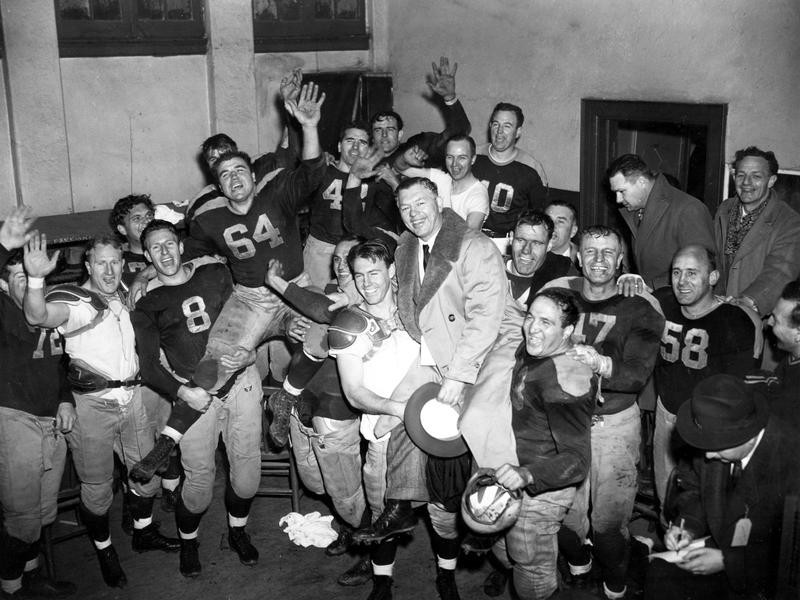 Curly Lambeau and 1944 Green Bay Packers
