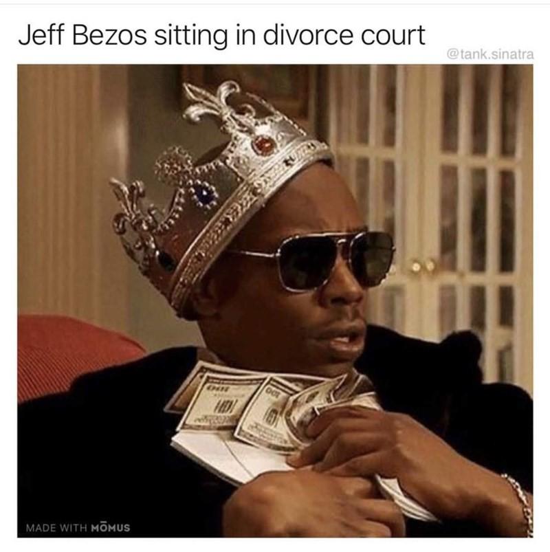 Jff Bezos divorce