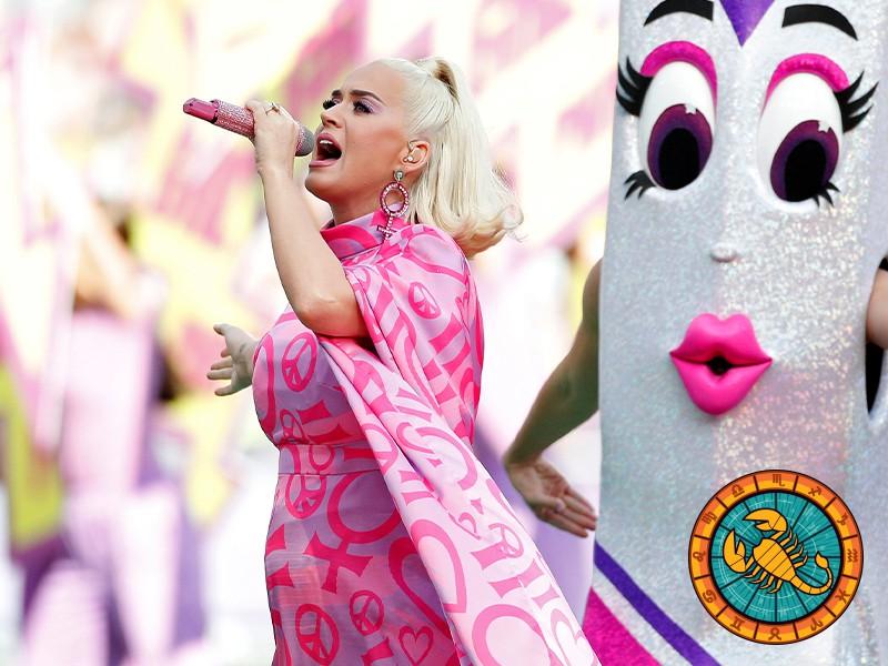 Scorpio: Katy Perry