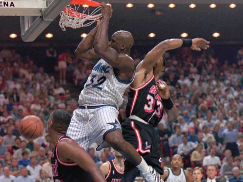 Shaquille O'Neal, Alonzo Mourning