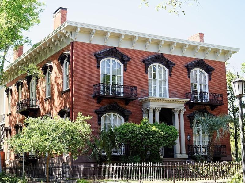 Mercer House in Savannah, Georiga
