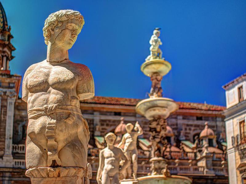 Piazza Pretoria, Palermo, Sicily