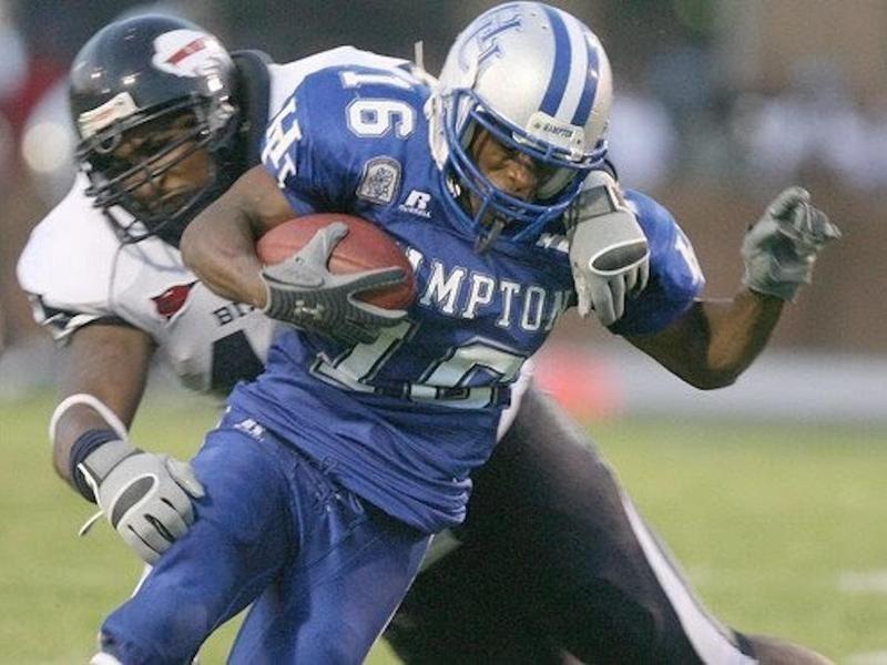 Hampton University wide receiver Jeremy Gilchrist