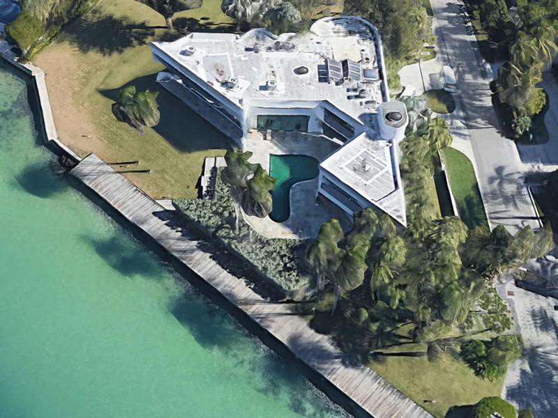 Frank Lopez's house from Scarface in Florida