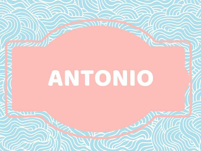 Unique Baby Boy Names: Antonio
