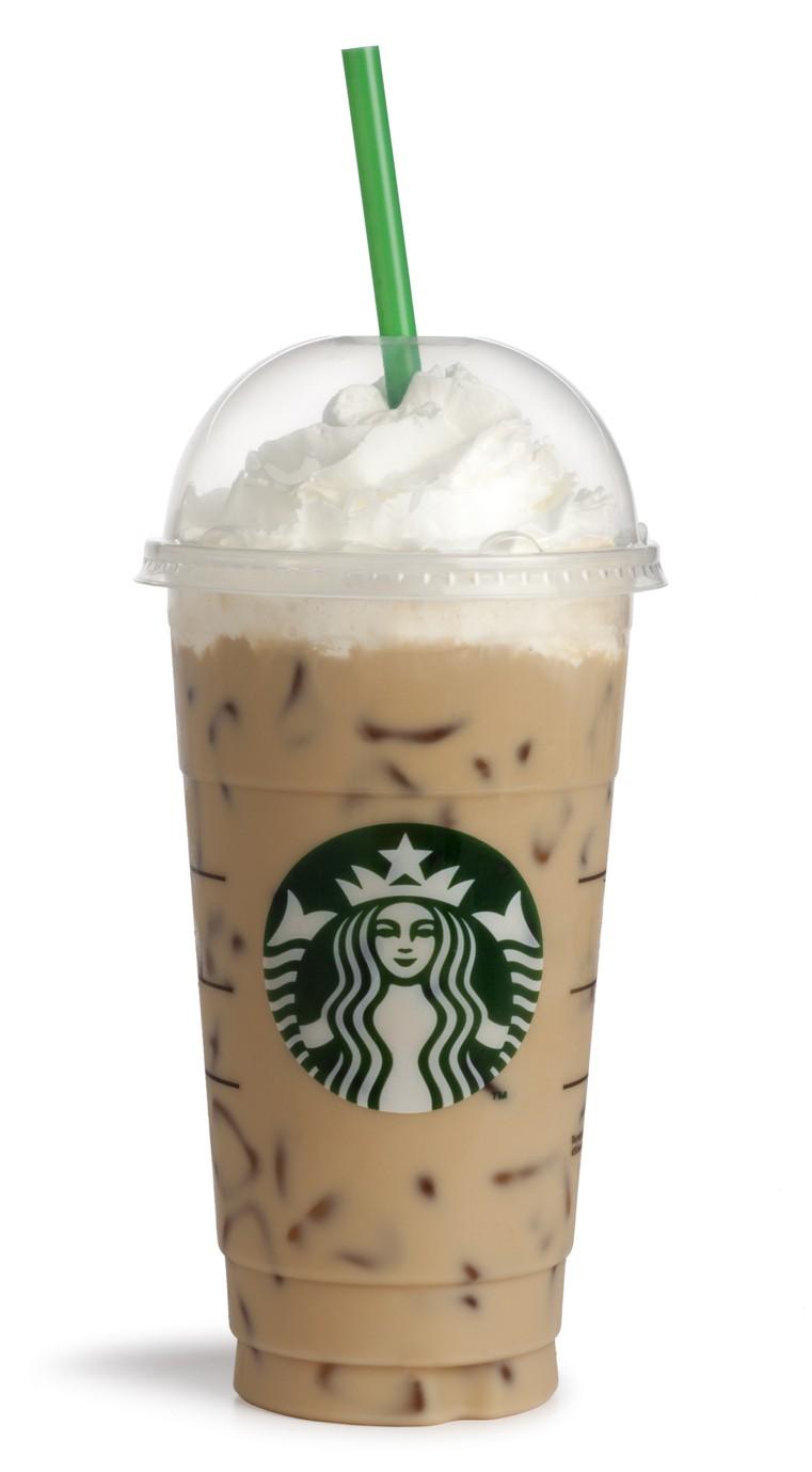 Starbucks Venti Caramel Frappucino