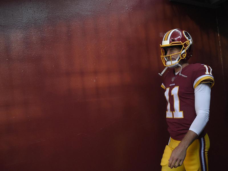 Washington Redskins quarterback Alex Smith