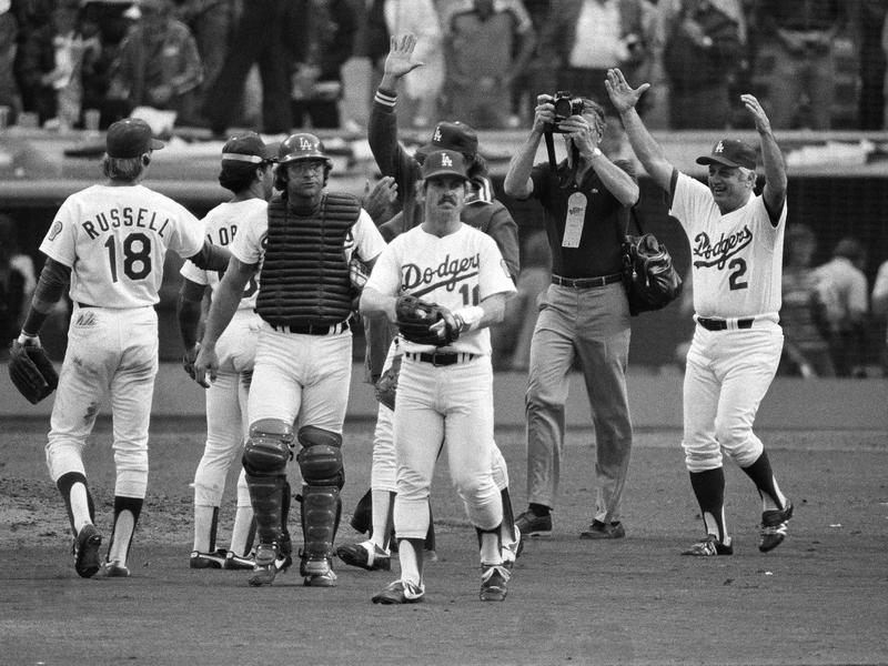 Tommy Lasorda and 1981 Los Angeles Dodgers