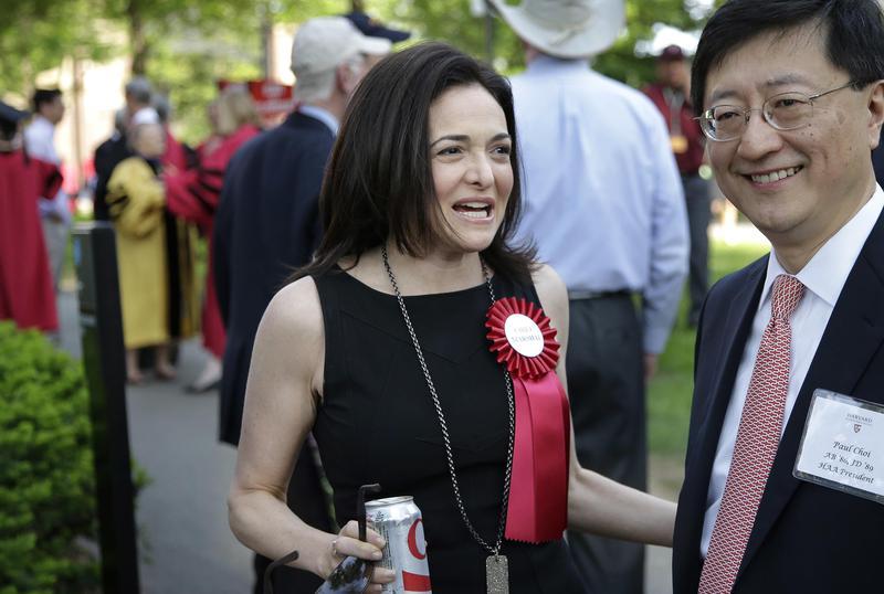 Sheryl Sandberg harvard