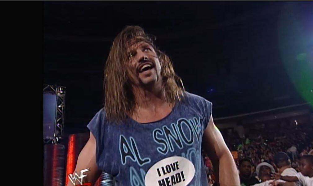 Al Snow in the Kennel from Hell Match