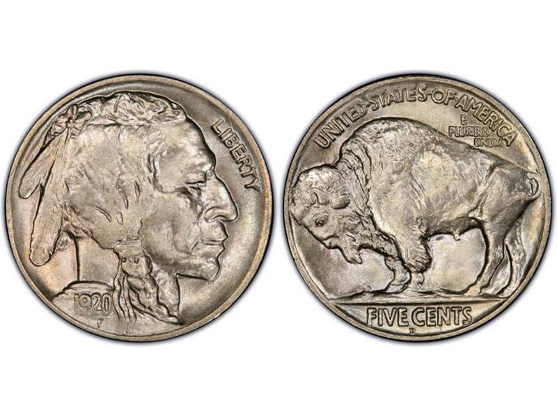 1920-D Regular Strike Buffalo Nickel