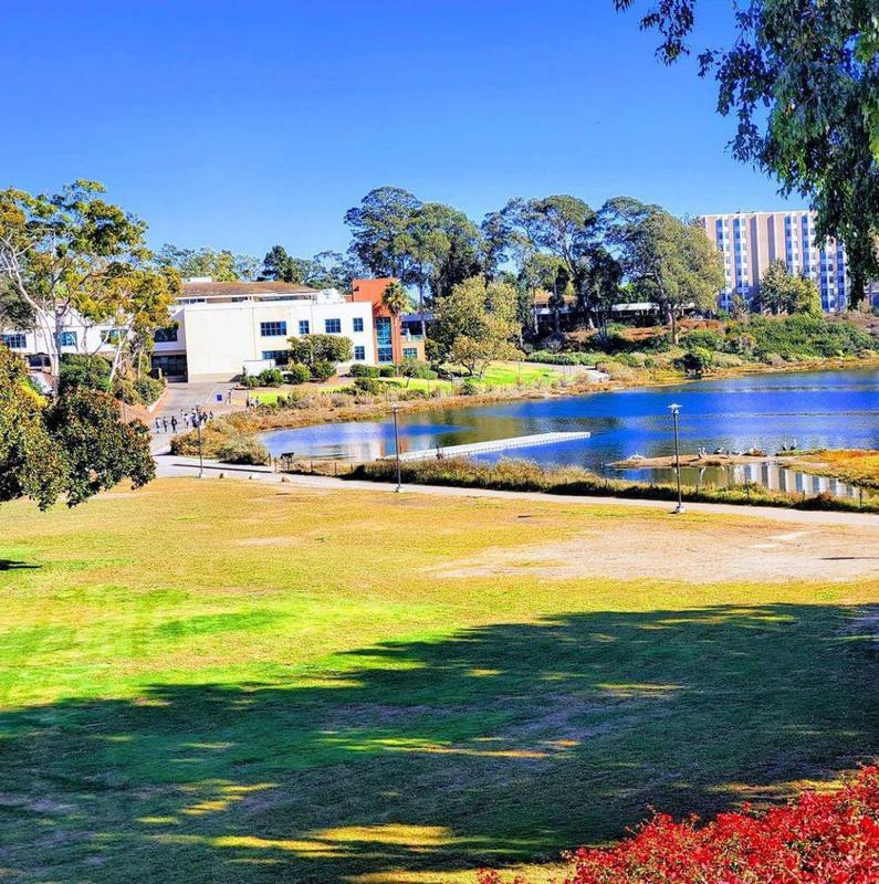 Lagoon at the University of California, Santa Barbara