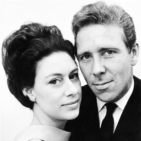 Lord Snowdon and  Princess Margaret