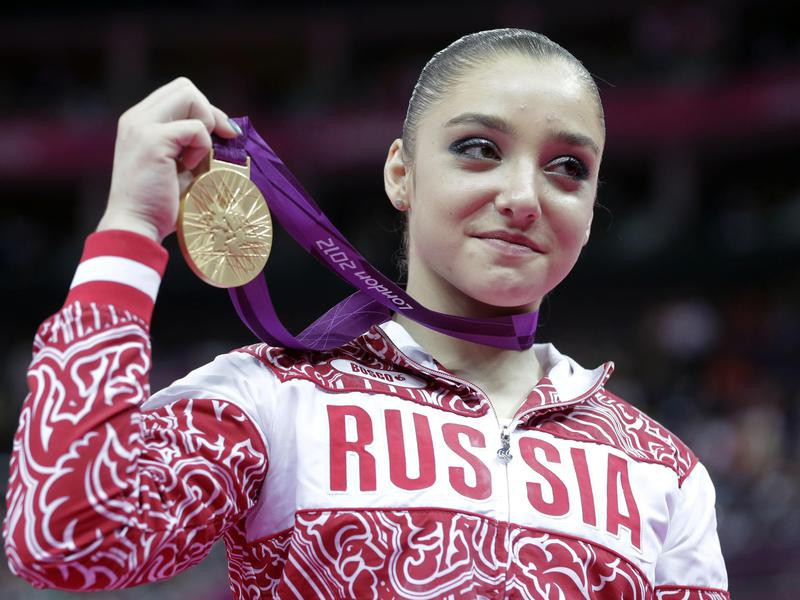 Aliya Mustafina is one of the best women's gymnasts of all time
