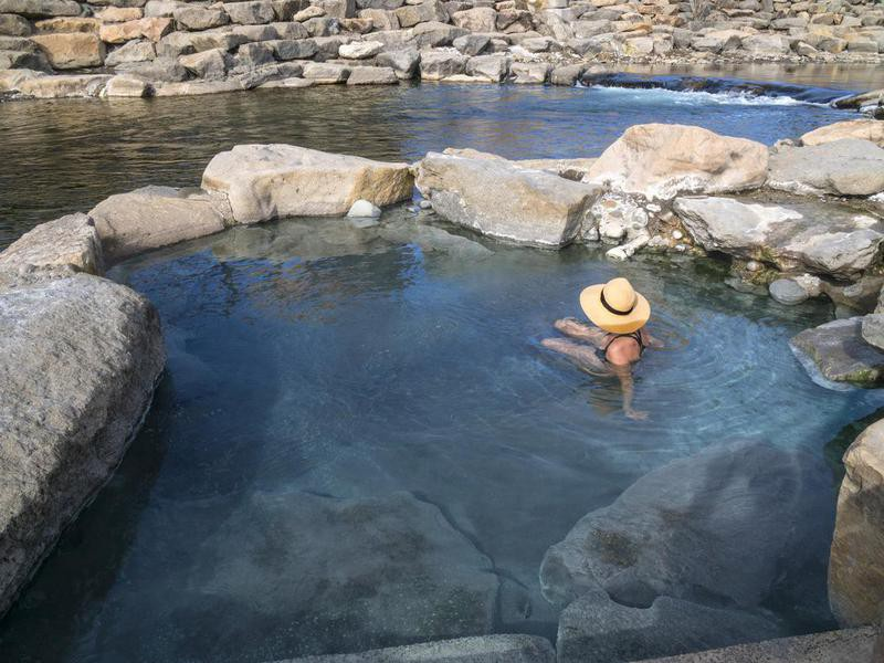 Natural pool in Pagosa Springs, Colorado