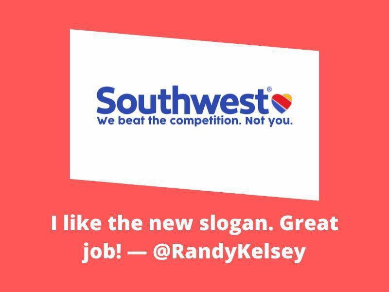 New slogan