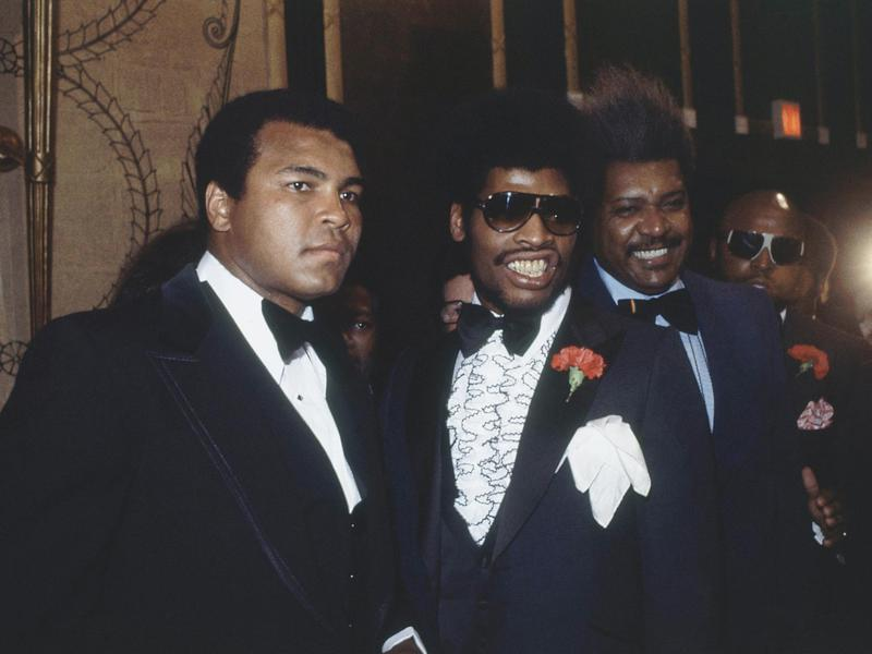 Muhammad Ali, Leon Spinks, Don King