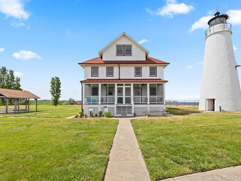 Cove Point Lighthouse Keeper's House