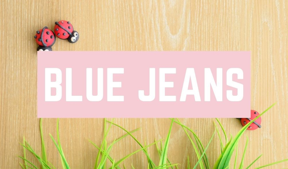 Funny Baby Names: Blue Jeans