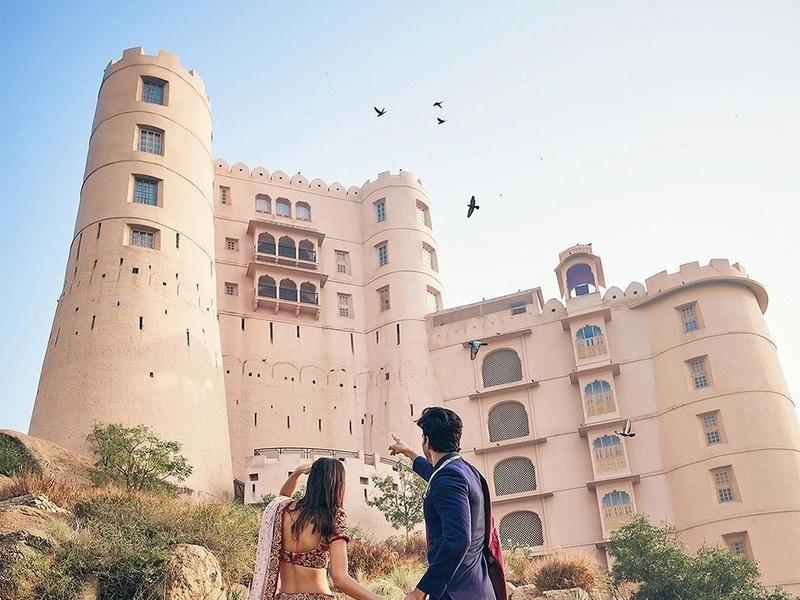 Eco luxury resort in India