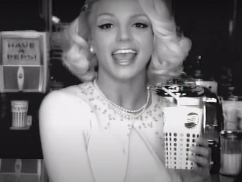 2002 Pepsi Britney Spears commercial