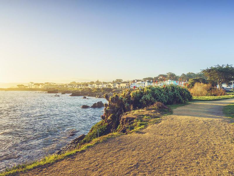 Carmel Beach in Carmel-by-the-Sea,California