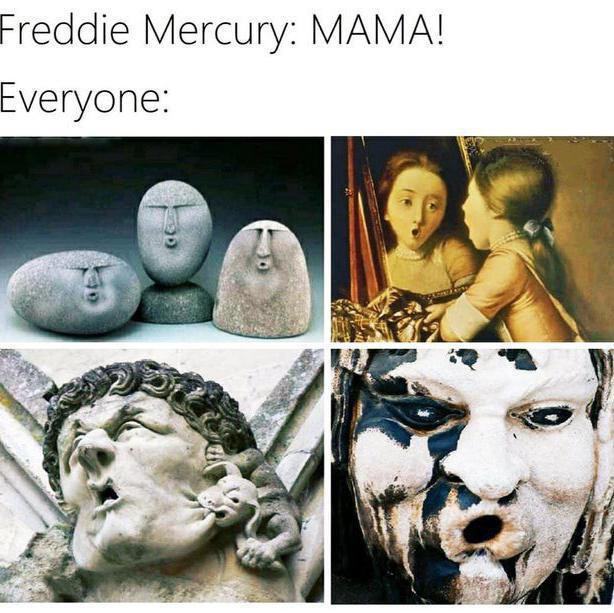 Queen art history meme