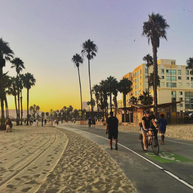 25. Santa Monica State Beach