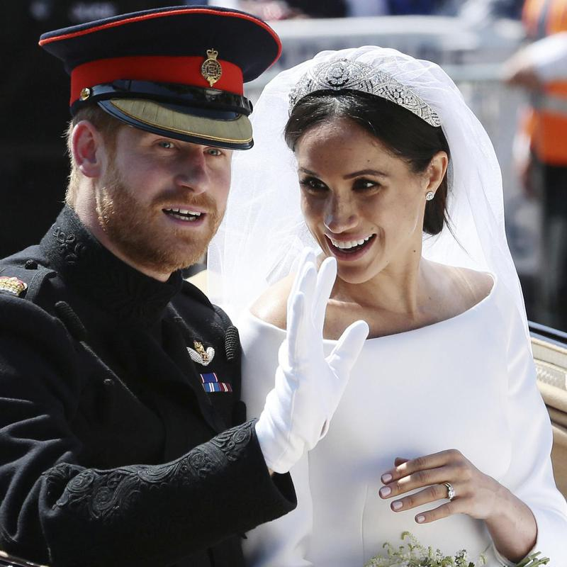 Meghan Markle and Britain's Prince Harry