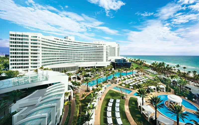 Fontainebleau resort in Miami Beach