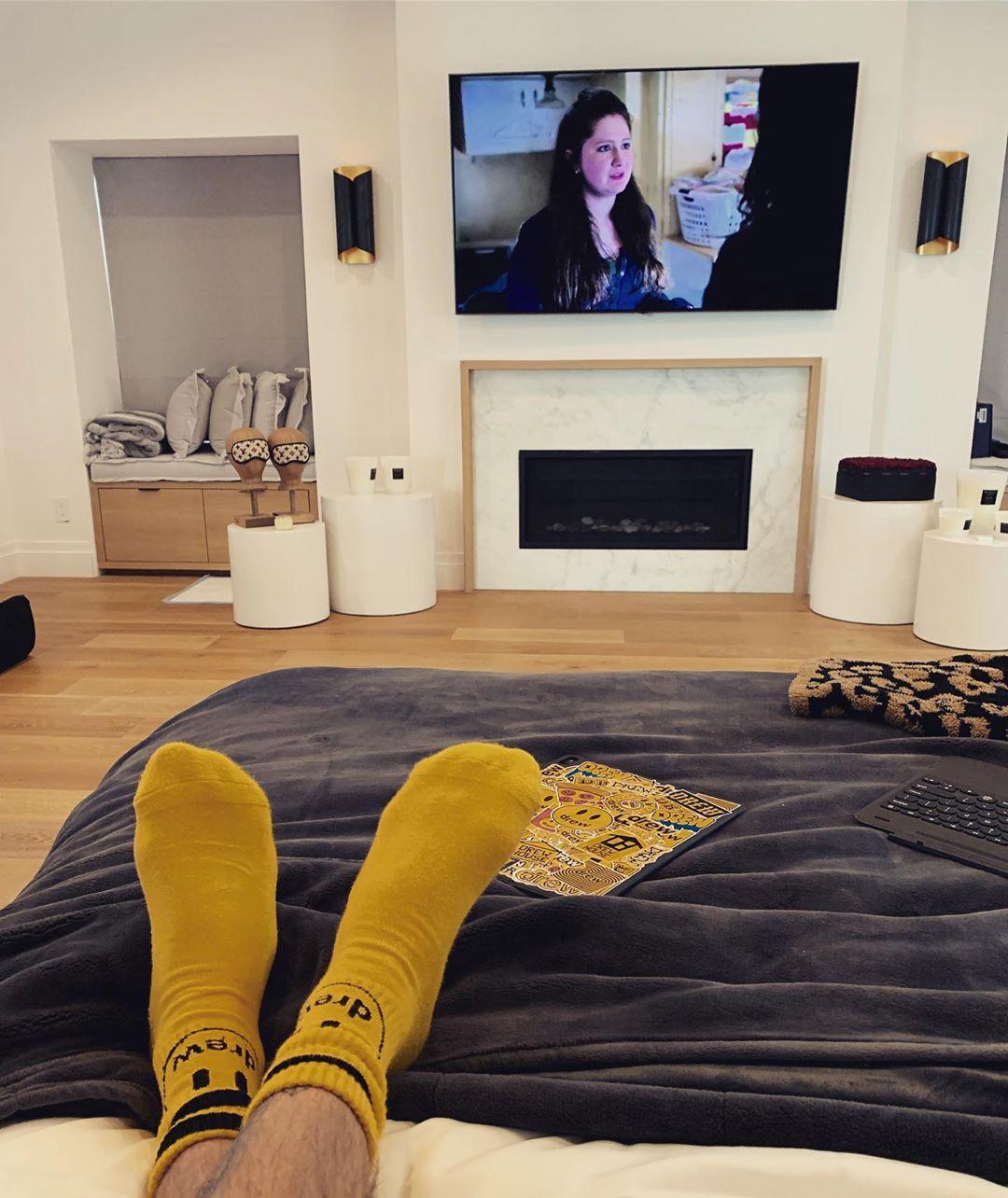 Justin Bieber's bedroom